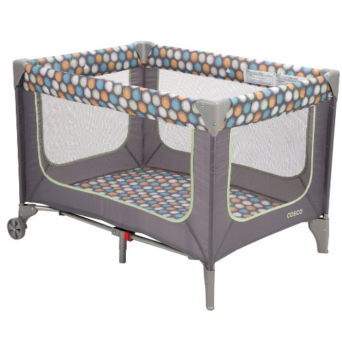 Cosco Juvenile Funsport Play Yard, Ikat Dots - 1