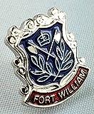 Fort William Scotland Town Flag / Crest Pin Badge