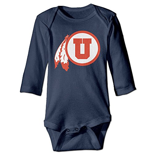 OOKOO Baby's University Of Utah Bodysuits Navy 6 M (Kitchenaid Blender Ice Blue compare prices)