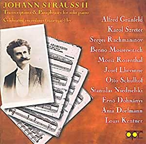 J Strauss: Transcriptions and Paraphrases for Solo Piano