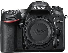 Nikon D7200 Appareil photo numérique Réflex 24,72 Mpix Boîtier Nu Noir