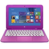 "HP 11.6"" Pink Stream 11-d011wm Laptop with Intel Celeron Processor, 2GB Memory, 32GB Hard Drive, Bluetooth Windows 8.1 and Microsoft Office 365 Personal (1-yr subscription) (DVD/CD DRIVE NOT INCLUDED)"
