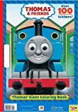Thomas' Giant Coloring Book (Thomas & Friends) (Thomas the Tank Engine) Golden Books