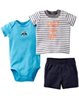Carter's Little Boys' 4 Piece Striped Cotton Set (Toddler)