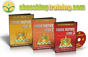 Chess King Training Complete Chess Tactics 1-2-3 Combo From Beginner to Grandmaster