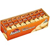 Austin Toasty Crackers With Peanut Butter - 45 Packages