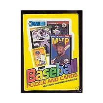 1989 Donruss Baseball Wax Pack Box Ken Griffey Jr. Rookie Card Set