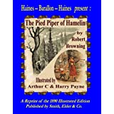 The Pied Piper of Hamelin - by Robert Browning. Facsimile of Elder - Smith's 1890 Illustrated Editiondi Robert Browning