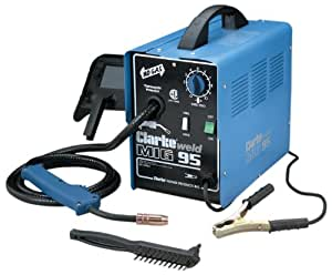 Clarke WE6480A 120-Volt Fluxcore Wire Welder