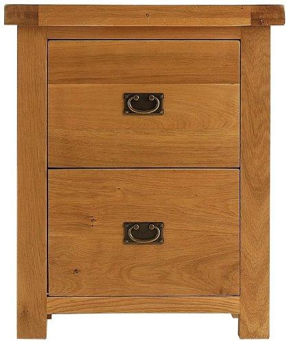 Kingsford Chunky Oak Filing Cabinet