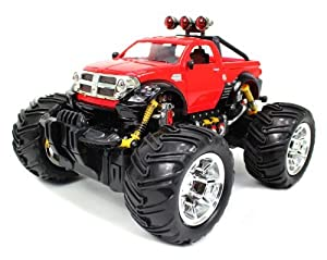 Velocity Toys 1:16 Dodge RAM Monster Truck RC Remote Control car with Rechargeable Batteries RTR at Sears.com