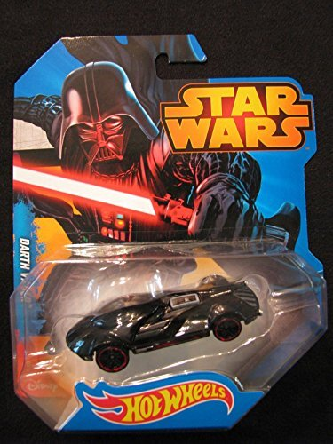 Star wars Darth vader Hot wheels 2014 Mattel new in package RARE diecast movie car