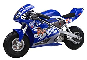 Razor Pocket Rocket Miniature Electric Motorcycle
