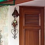 Onlineshoppee Door Bell Umbrella ( Black )