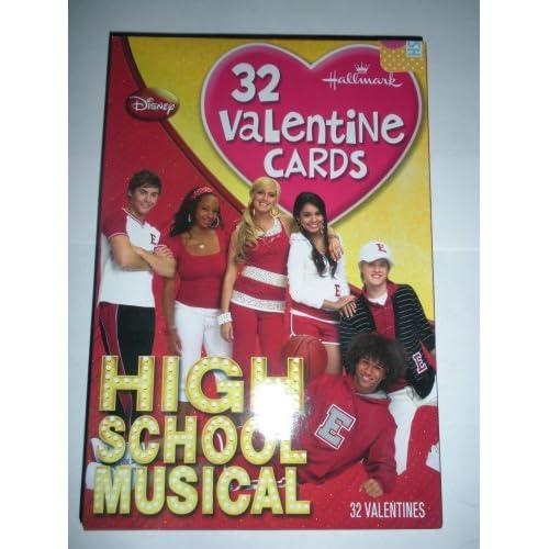 Hallmark Disney High School Musical Valentines Day Cards