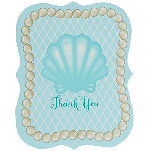 Mermaids Under the Sea Thank You Notes (8) - 1
