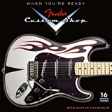 img - for Fender Custom Shop Guitar 2012 Wall (calendar) book / textbook / text book