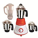 Celebration 600 Watts MG16-43 Red And White 4 Jars Mixer Grinder Direct Factory Outlet