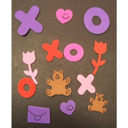 Fabulous Foam Valentine Shapes Case Pack 4 - 674665