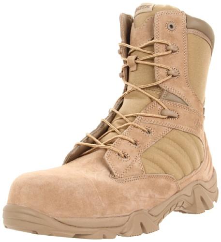 Bates Men'S Gx-8 8 Inch Ultra-Lites Zip Uniform Work Boot, Desert, 12 M Us