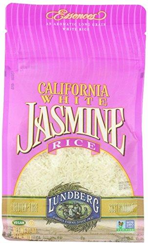 Lundberg Rice Eco-Farmed California Jasmine White, Gluten Free, 32-Ounces
