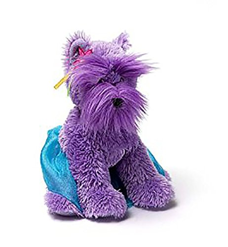 "Gund Princess 8.5 "" Dog - Purple"