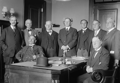 1916 photo HOUSE OF REPRESENTATIVES COMMITTEES. INTERSTATE COMMERCE. JOINT HEARINGS. STD: REP. ADAMS