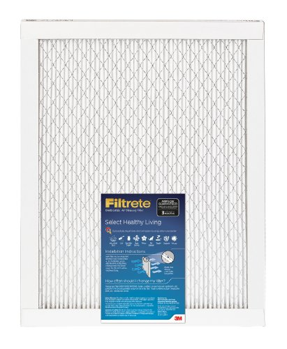 Filtrete Select Healthy Living Filter, 24-Inch by 30-Inch by 1-Inch, 1-Pack