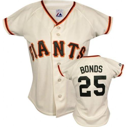Barry Bonds Majestic Replica San Francisco Giants Womens Jersey