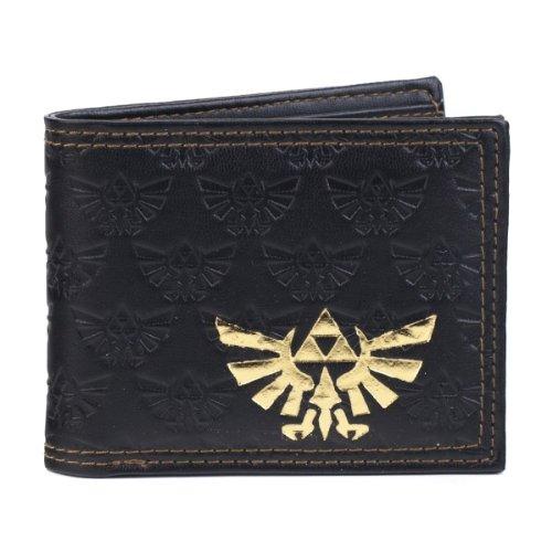 Nintendo Legend of Zelda Twilight Princess Embossed Bi-Fold Portafoglio