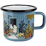 MUURLA 7 dl the Moomin House Enamel Mug