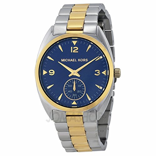 Michael Kors Azul Dial Bicolor Unisex Reloj