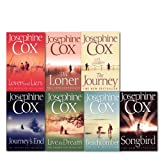 Josephine Cox Josephine Cox Collection 7 Books Set, (The Journey, Lovers and Liars, The Beachcomber, Songbird, Live the Dream, Journey's End, The Loner)