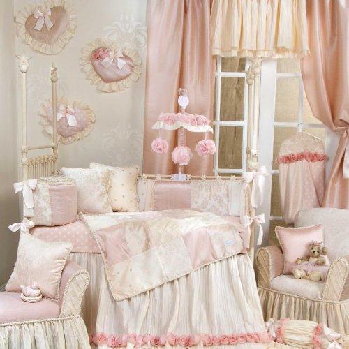 Victoria 4 Piece Crib Bedding Set by Glenna Jean