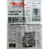 NOUVELLE REPUBLIQUE (LA) [No 10746] du 05/02/1980 - le cyclone jacinthe a menace la reunion face a la crise -...