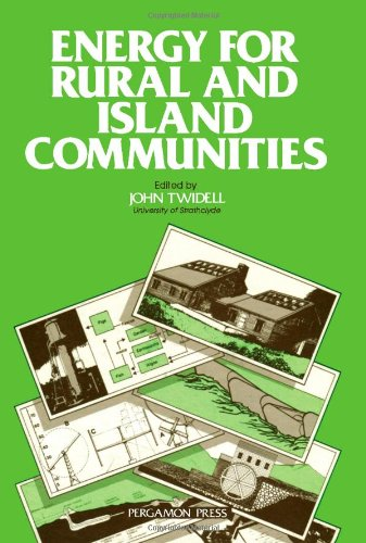 Energy For Rural And Island Communities: 1St: International Conference Proceedings