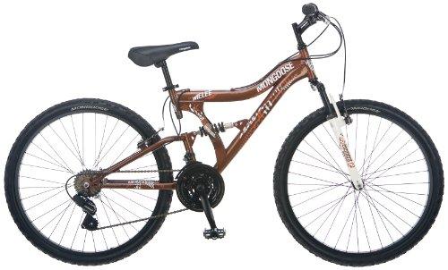 Mongoose Men's Melee Bicycle (Root Beer)