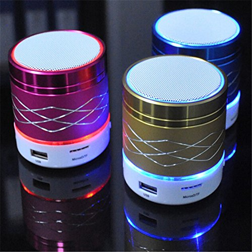 Genuine Rechargable Bluetooth Speaker With Led Light , Wireless Audio Receiver Outdoor, Home Theatre Portable...