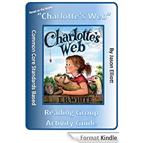 Charlotte's Web Reading Group Activity Guide (English Edition)