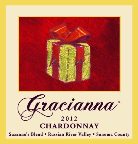 2012 Gracianna Suzanne'S Blend Russian River Valley Sonoma County Chardonnay 750 Ml