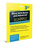 img - for Word 2010 Basics and Advanced For Dummies eLearning Course Access Code Card (6 Month Subscription) book / textbook / text book