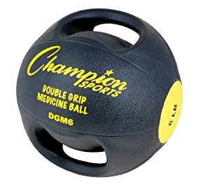 Champion Sports Double Grip Anatomic Medicine Balls by Champion Sports