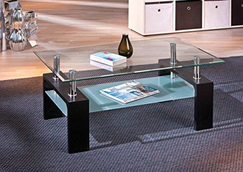 wohnzimmertisch glas schwarz com forafrica