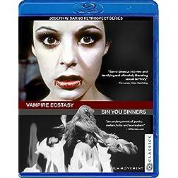 Vampire Ecstasy / Sin You Sinners [Blu-ray]