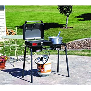 Boil fry grill and barbecue 