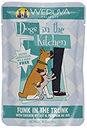Weruva Chicken and Pumpkin Au Jus Dog Food, 2.8 oz-12 pack