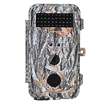 BlazeVideo 16MP HD Trail Hunting Wildlife Camera, Hunter Scouting Game Camera Motion Sensor Activated Waterproof with Night Vision 40pcs IR LEDs Up to 65ft, Video Record, Snapshot, 2.36
