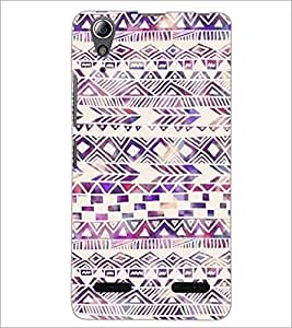 PrintDhaba Pattern D-2188 Back Case Cover for LENOVO A6000 PLUS (Multi-Coloured)