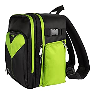 MyVangoddy Fujifilm FinePix HS50 EXR Green Sparta Collection SLR Camera Backpack available at Amazon for Rs.7793