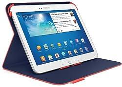 Logitech Folio for 10.1-Inch Samsung Galaxy Tab 3 - Mars Red Orange